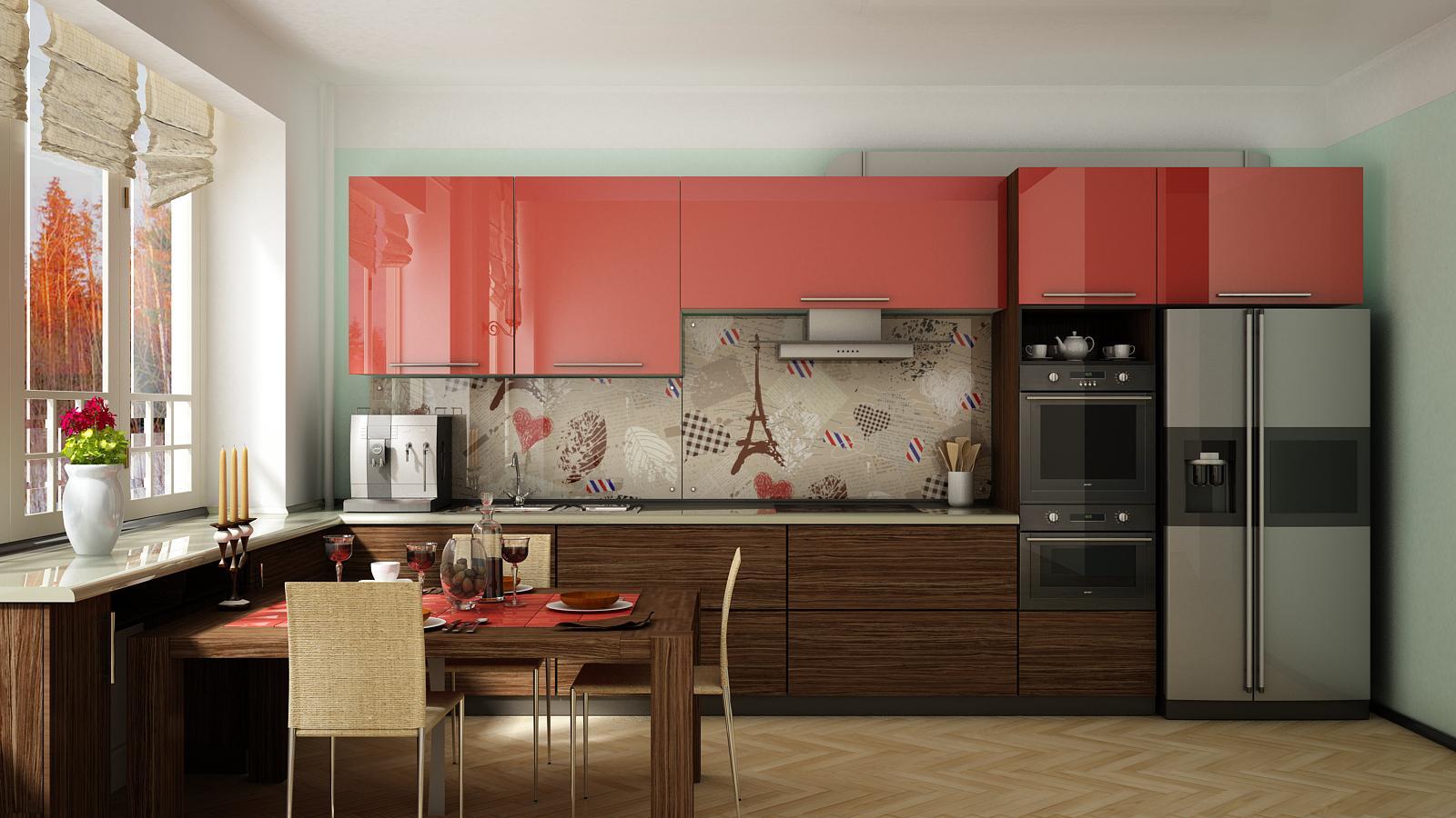 макияже широкоформатные картинки на кухню широких кругах девушки